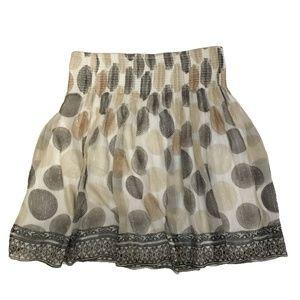 WHITE HOUSE BLACK MARKET silk skirt S